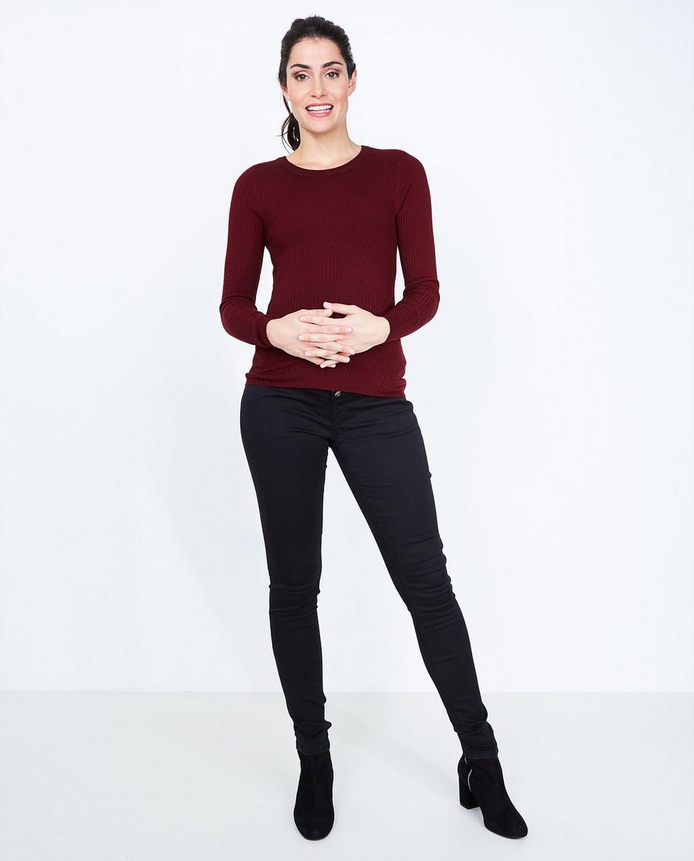 Zwarte jeans - skinny fit - Joli Ronde